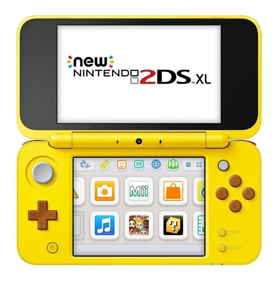Nintendo New 2DS XL Pikachu Edition amarelo