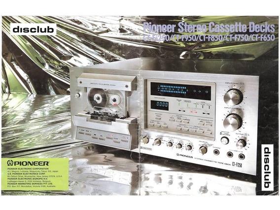 Catalogos Pioneer Decks + Giradiscos 1979/8 Japon (pdf)