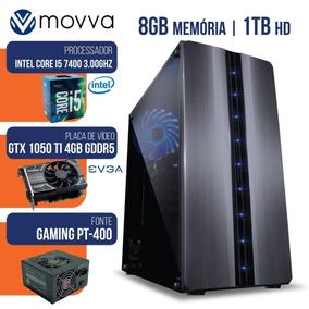 Pc Gamer I5 7400 8gb Ddr4 1tb Gtx 1050 Ti 4gb 400w Linux