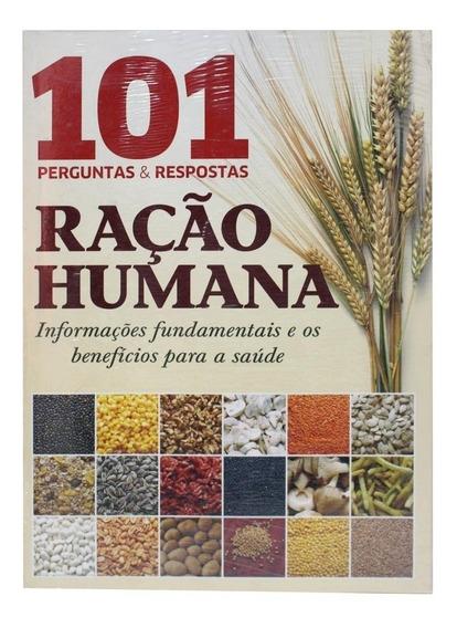 Livro 101 Perguntas E Respostas Ração Humana - Original