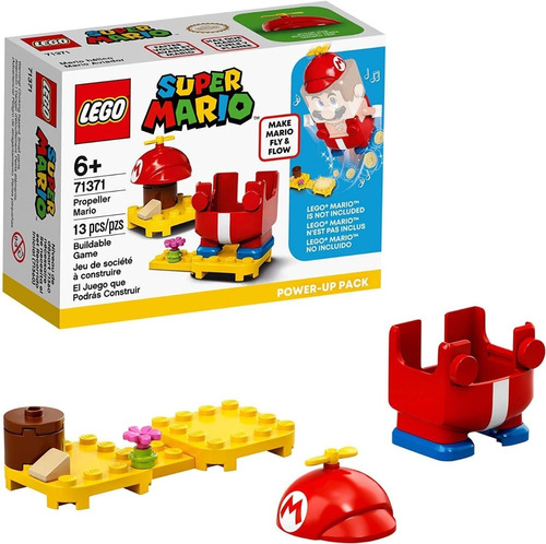 Lego Super Mario 71371 Traje Potenciador Hélice 13 Pzas