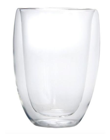 Vaso Doble Vidrio Para Bebidas Frias Y Calientes 330 Ml