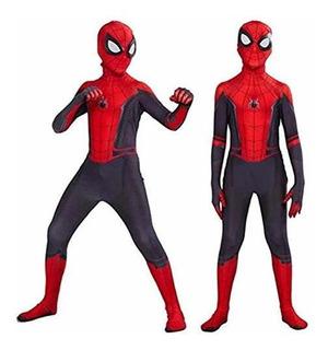 Disfraz 3d Spider Man Lejos De Casa Halloween
