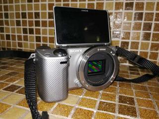 Cámara Sony Nex-5r, Pantalla Táctil