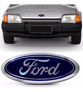 Emblema Ford Escort Corcel Belina Delrey Pampa Azul Vermelho