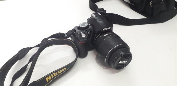 Câmera Nikon 3100 + Lente + Carregador + Bateria + Bolsa