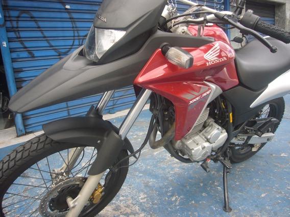Honda Xre 300 Vermelha 2014 Troca Financia