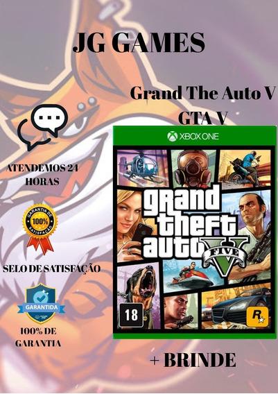 Gta V Xbox One Mídia Digital + 1 Jogo Grátis