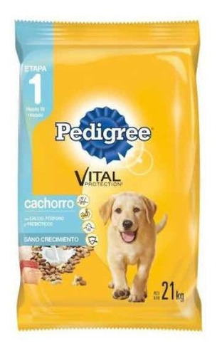 Pedigree Cachorro X 9kg+pouch Pedigree