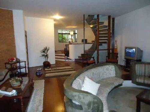 Sobrado Com 4 Dormitórios À Venda, 459 M²  - Jardim Leonor Mendes De Barros - São Paulo/sp - So0433