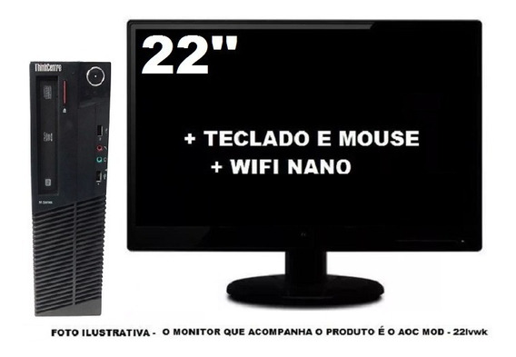 Lenovo Thinkcentre M92 Intel Core I3 4gb 500gb