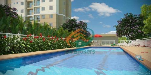 Apartamento À Venda, 53 M² Por R$ 280.000,00 - Vila Miriam - Guarulhos/sp - Ap0237