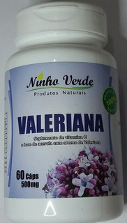 Kit 2 Valeriana,t\ 120caps 500mg Ninho Verde