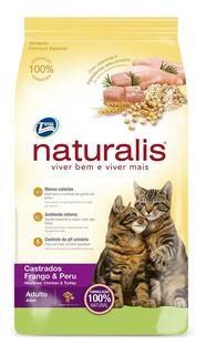 Alimento Para Gato - Naturalis Gatos Castrados