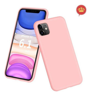 Capa De Celular Apple iPhone 11 - Silicone Rosa Claro