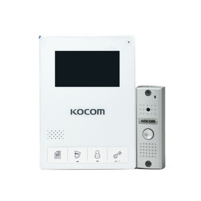 Video Portero Intercomunicador Marca Kocom Kcv-434(w)+kc-mc2