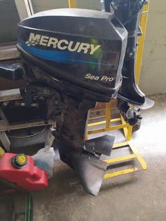 Motor De Lancha Mercury 15 Caballos Casi Nuevo