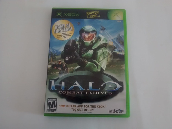 Halo Combat Evolved Game Of The Year Original Completo Xbox