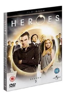 Heroes - Importe Por Temporada - Dvd