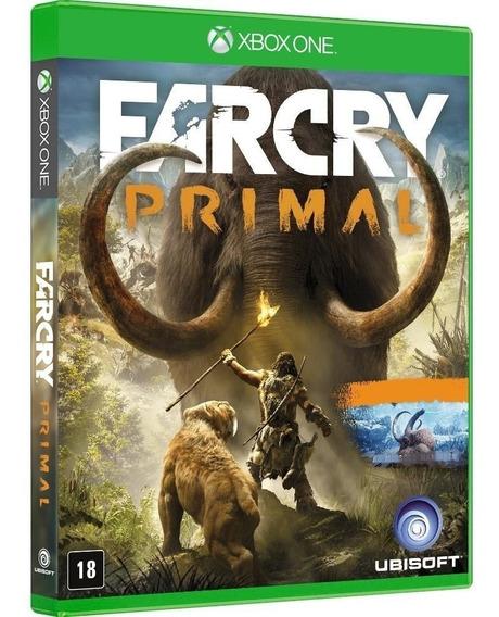 Jogo Far Cry Primal Xbox One Midia Fisica Novo Lacrado Original Português