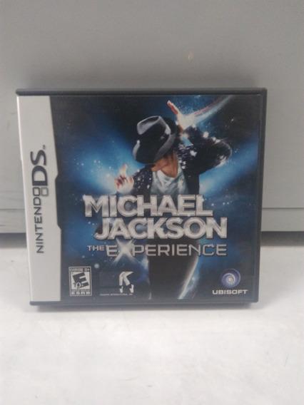 Michael Jackson: The Experience - Nintendo Ds - Com Caixa