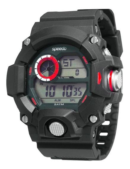 Relógio Speedo 81091g0egnp1 Pulso Digital Cromado Não Gshock