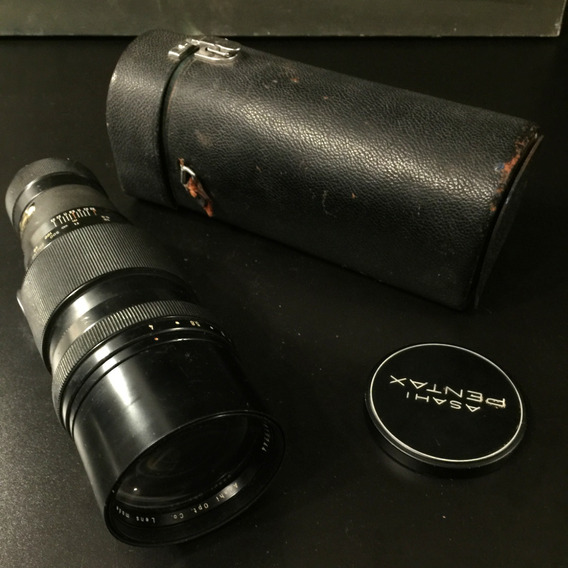 Lente Pentax Takumar Teleobjetiva 300mm