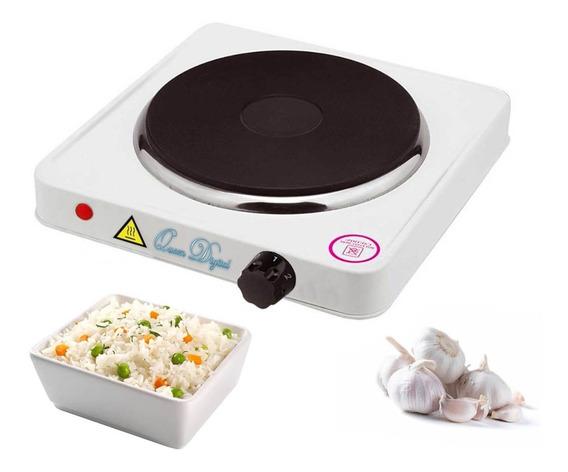 Anafe Electrico Una Hornalla Cocina Protección Bajo Consumo