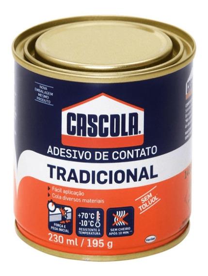 Adesivo De Contato Tradicional S/ Toluol 195g Cascola