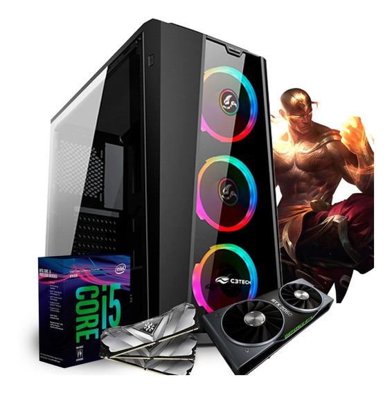 Pc Gamer I5 8400 Z370m Aorus Gaming (rtx 2060 6g) 8gb / 1tb