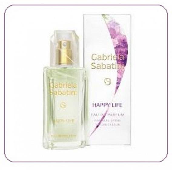 Perfume Importado Gabriela Sabatini Happy Life 60 Ml