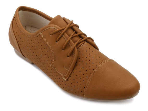 Oxford Feminino Sapato Com Cadarço Facinelli Mooncity