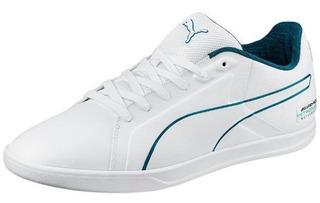 Tenis Puma Mercedes Benz Court Blanco 306023-03 Look Trendy