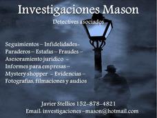 Detectives Privados - Zona Sur Gba 152-878-4821