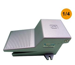 Válvula Pedal/mola Pneumática 5/2 Vias 1/4 Com Silenciador