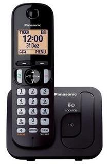 Telefone Sem Fio Panasonic Tgc210lbb Bloqueador De Chamadas