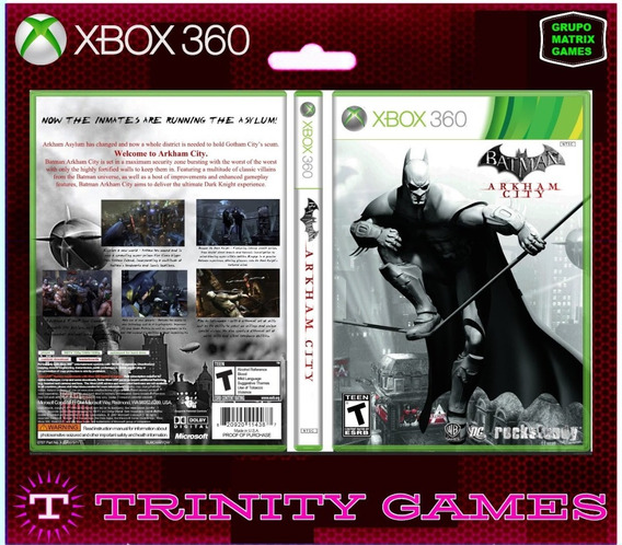 Batman Arkam City -jogo Para Download Da Live Xbox