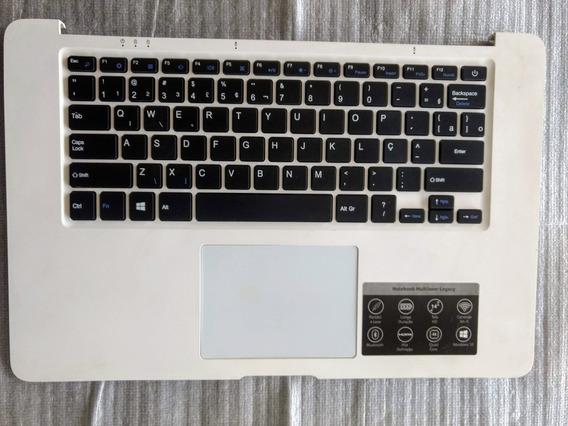 Teclado Completo Do Notebook Multilaser Legacy Branco