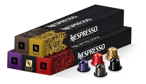 Cápsulas Café Nespresso Pack Ispirazione Italiana X 50