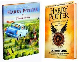 Harry Potter E A Câmara Secreta + A Criança Amaldiçoada 1- 2