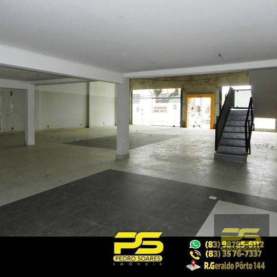 Prédio Para Alugar, 500 M² Por R$ 13.500/mês - Miramar - João Pessoa/pb - Pr0011