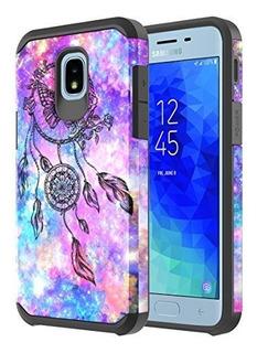 Samsung Galaxy J3 2018 Funda Onyxii Hãbrida De Doble Capa