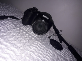 Câmera Sony Canon 20.1mp Dsc-h300