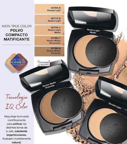 Avon Maquillaje En Polvo Compacto - Mendoza