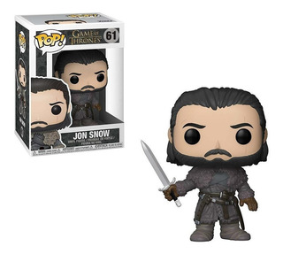 Funko Pop Game Of Thrones Jon Snow 61 Original En Stock