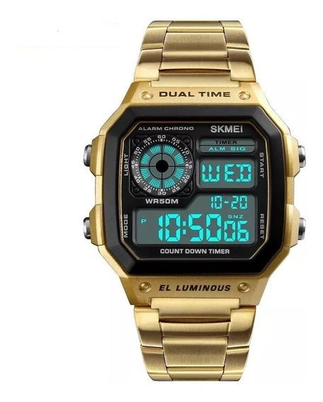 Relógio Skmei 1335 Digital Original Aço Inoxidável Oferta