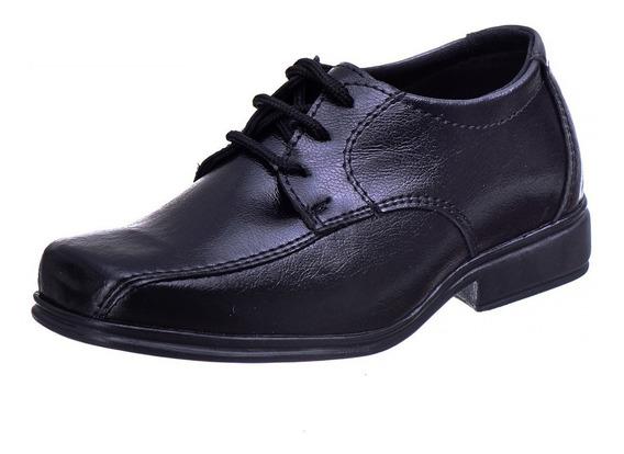Sapato Social Masculino Infantil Ref.610 Do 28 Ao 36