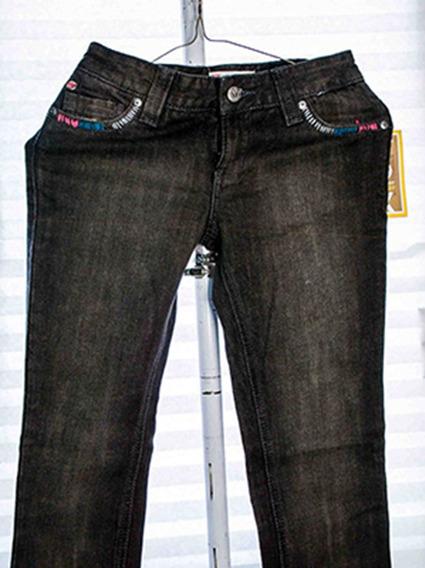 Pnatalon Mezclilla Negro Niña Roxy 100% Original