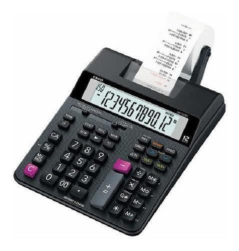 Imagen 1 de 2 de Calculadora Con Impresora Casio Hr-150tm 2 Colores
