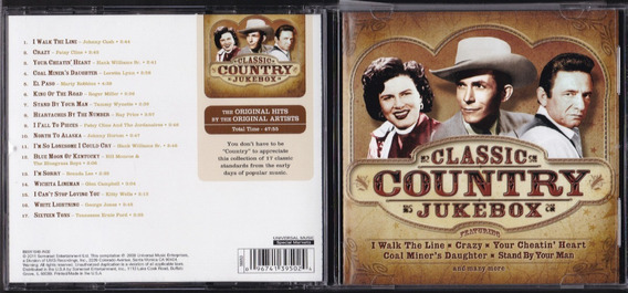 Classic Country Jukebox Cd Varios Universal Music Usa